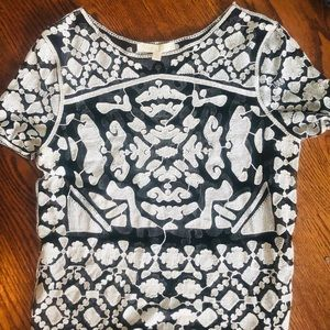 Ever Leigh Boho Pattern Top